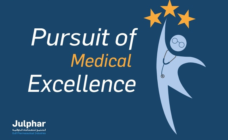 Julphar's Adult Primary Care unit launches the Pursuit of Medical Excellence Program