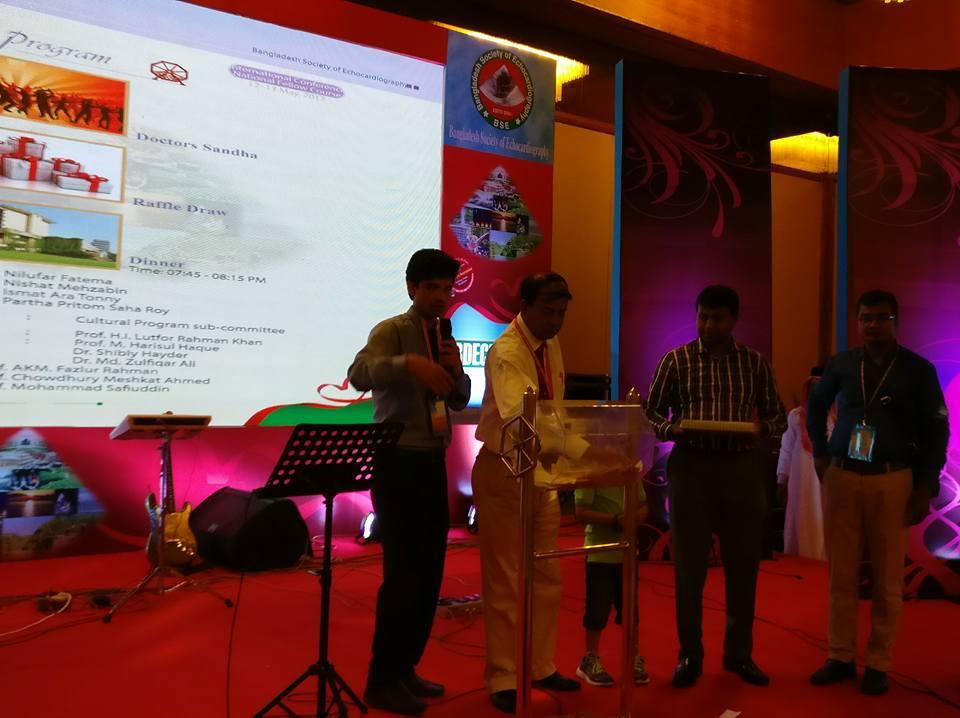 Julphar Bangladesh participates in BD-ECHO Conference 2017