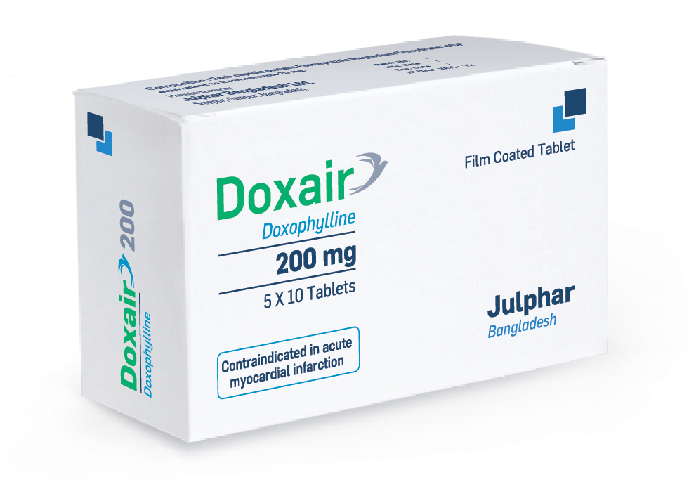 Julphar Bangladesh launches Doxair 200 for easy breathing