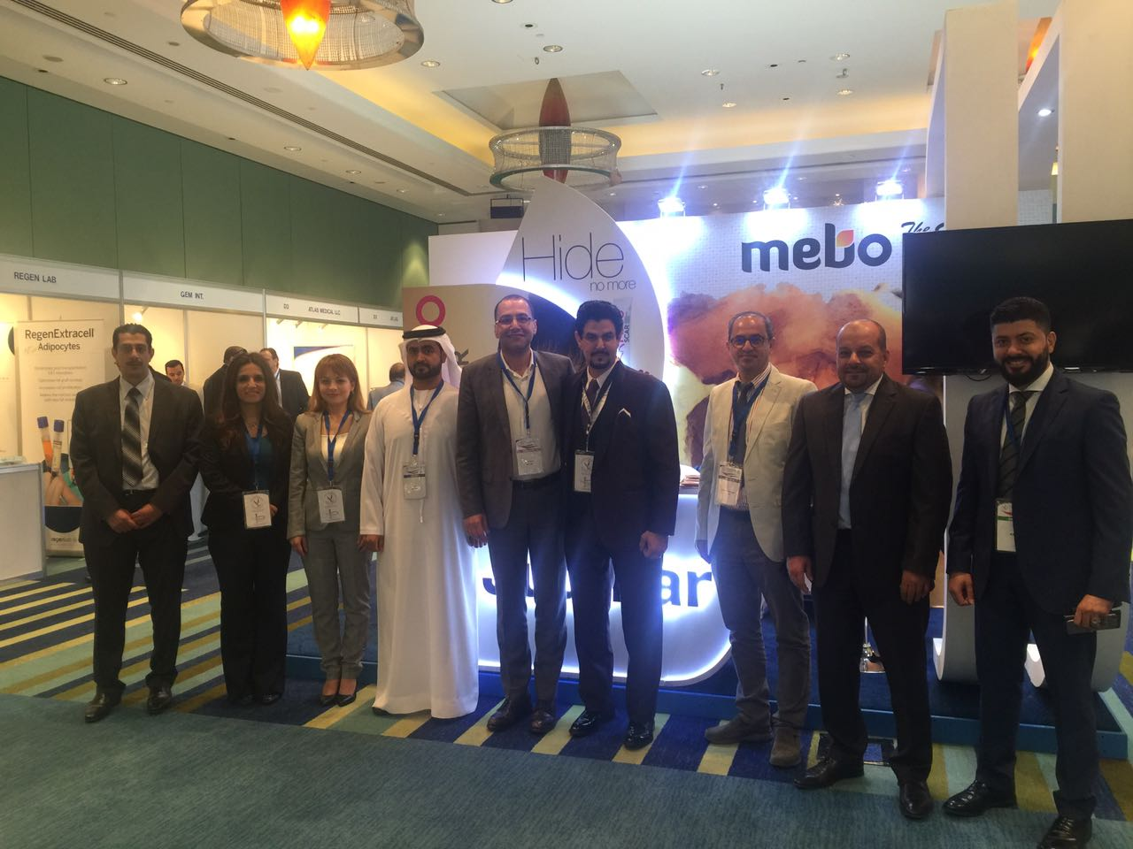 Julphar takes part in the Emirates Plastic Surgery Congress