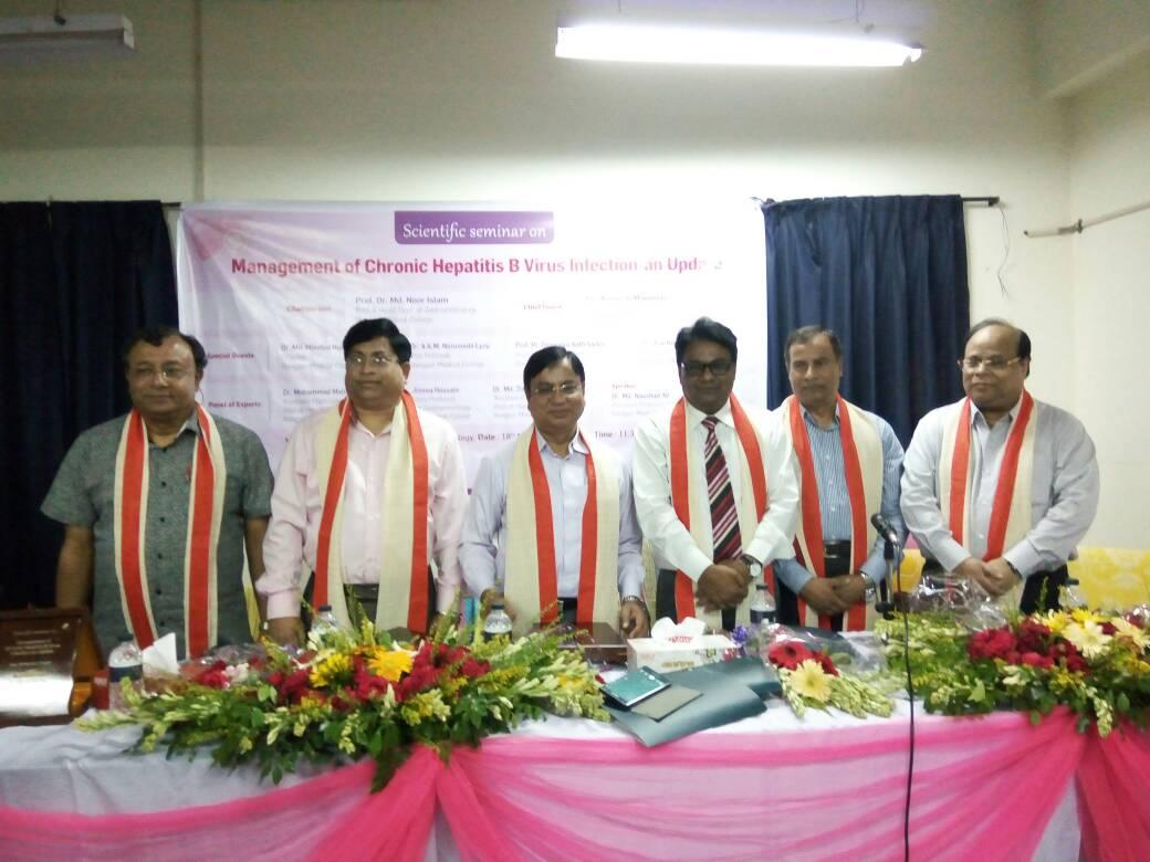 """Julphar Bangladesh Holds CME on """"Management of Chronic Hepatitis B Virus Infection-an Update"""""""
