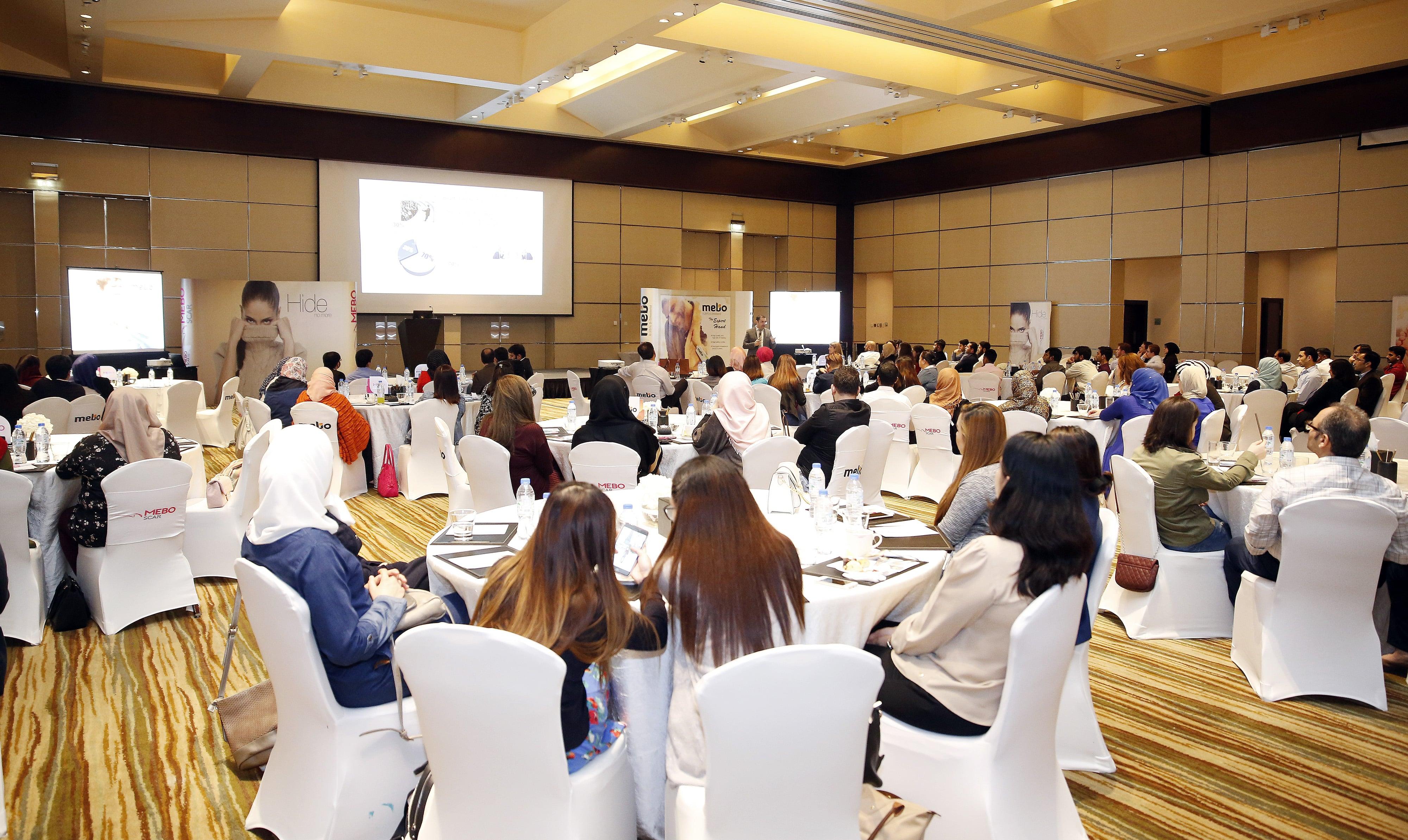Julphar hosts a MEBO and MEBO Scar workshop for pharmacists