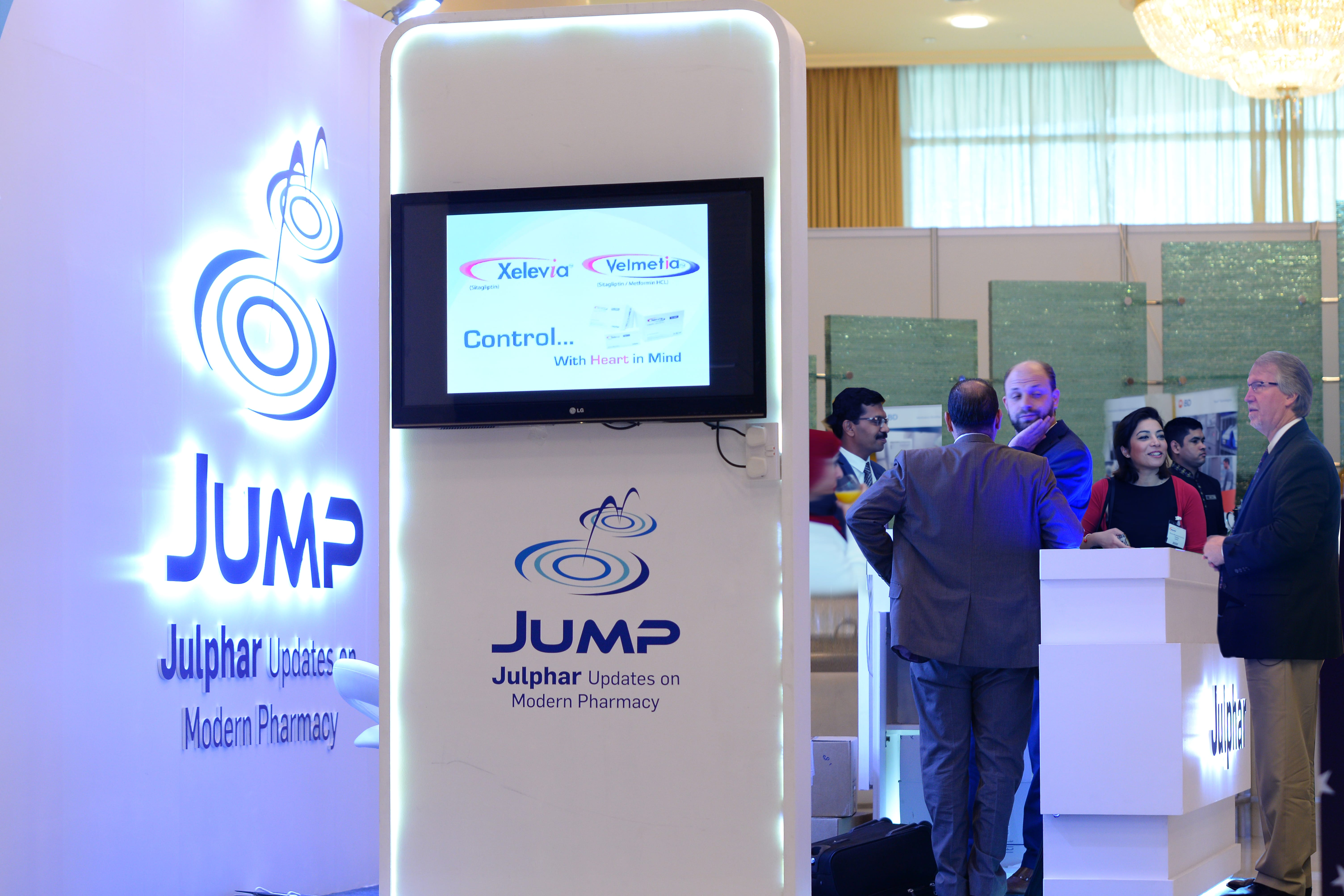 Julphar's CME program JUMP participates in the 3rd GCC Pharmacy Congress